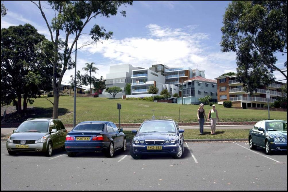 Structural engineering design, Luxury apartment residential complex, Nelson Bay